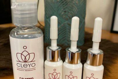mini's cleyo beauty products